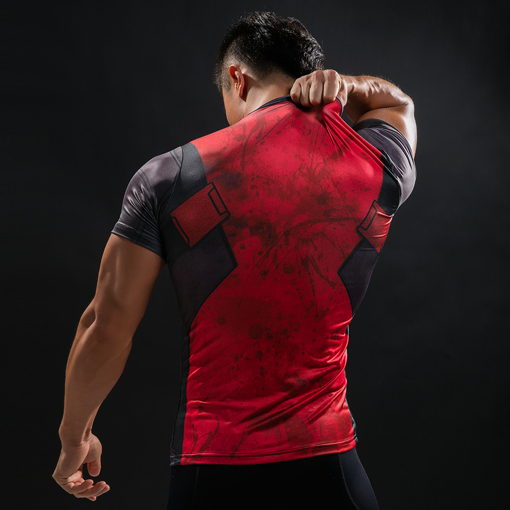 Punisher 3D Printed T-shirts Men Compression Shirts Long Sleeve Cosplay Costume crossfit fitness Clothing Tops Male Black Friday 88