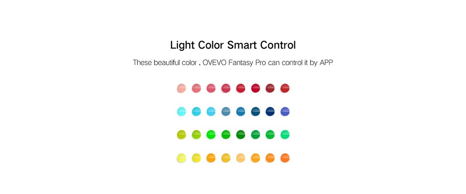 OVEVO FANTASY PRO Z1 SMART FOCUS LED SPEAKER LIGHT INTELLIGENT MULTI-COLOR LED TOUCH CONTROL LAMP BLUETOOTH 4 8