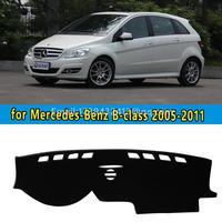 car dashmats car styling accessories dashboard cover for Mercedes Benz Mercedes b class b180 b200 b170 b160 2005 2006 2011