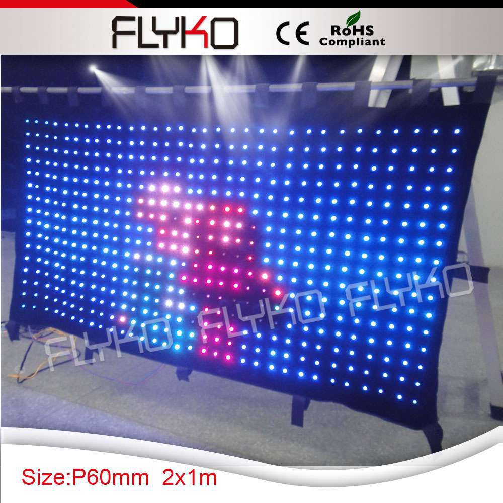 Us 850 0 Free Shipping Stage Lighting Effect Rgb 3in1 Used Custom Led Display Curtain In From Lights On