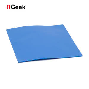 100mm * 100mm * 0.5mm Silicone Pad Thermal Pad GPU CPU Heatsink Cooling Conductive