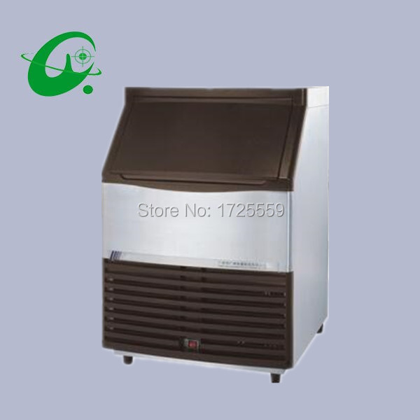 Stainless steel daily output 120kg vertical ice maker machine cube ice maker with 60kg storage