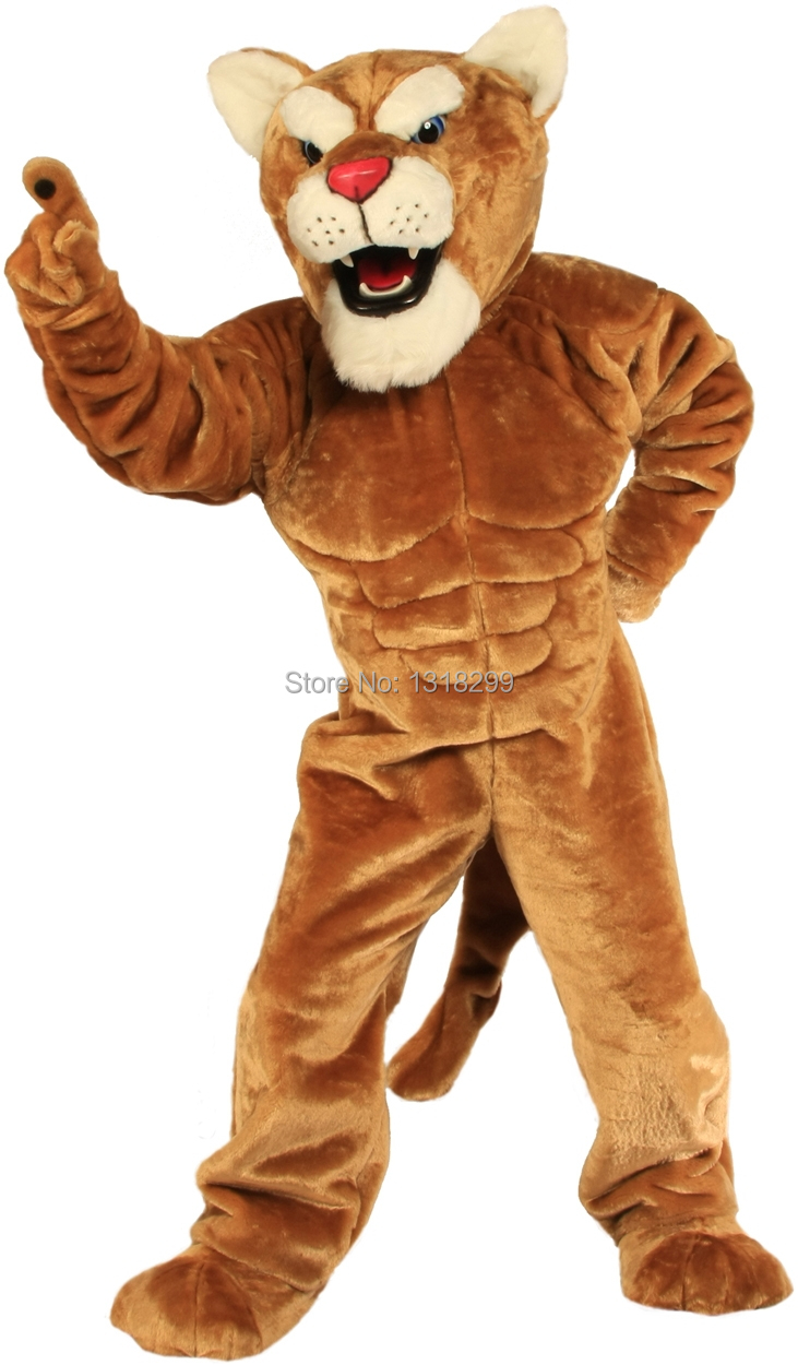 mascot Leopard Panther Corby Cougar mascot costume fancy dress custom fancy costume cosplay theme mascotte carnival costume