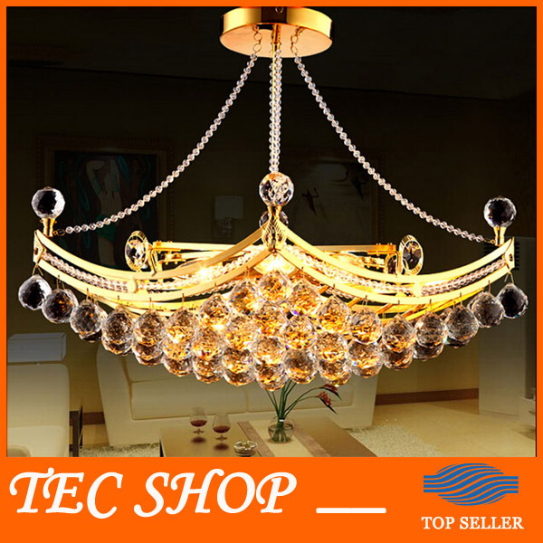Best Price Modern Luxury Crystal Chandeliers Pendant Lamp Gold Ceiling Light Fixture Hanging Ers Manufacturer