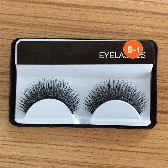 1 pair false eyelashes, Gala stage makeup professional hot fake eyelashes eye lashes
