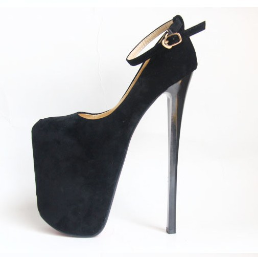 Extreme High Heels 19/22cm Women Shoes Pointed Toe Pumps Dress Wedding Shoes Women Party Shoes Platform Pumps Plus Size plus size 34 48 genuine leather high quality sexy women pumps pointed toe shoes thin high heels wedding shoes party dress shoes