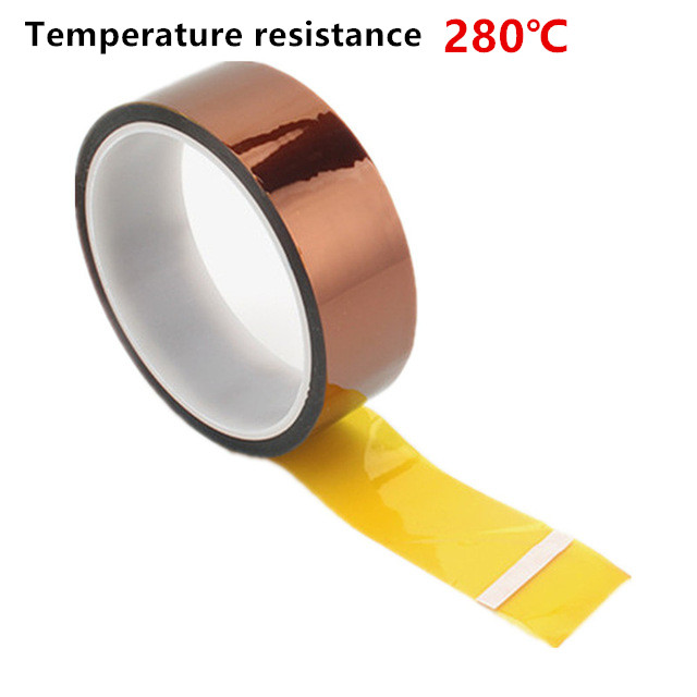 Automotive High Temperature Tape Thermal Polyimide Tape Adhesive Tape For 3D Print BGA 5MM 8MM 10MM 15MM 20MM 25MM