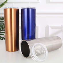 304 Stainless Steel Copper-plated Coffee Mug Double Insulation Water Bottle Vacuum Bottle keep Cup Drinkware for Juice milk cola(China)