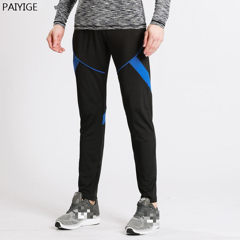 PAIYIGE Marca Running Pantalones Deporte de Los Hombres Leggings Fitness Muscula