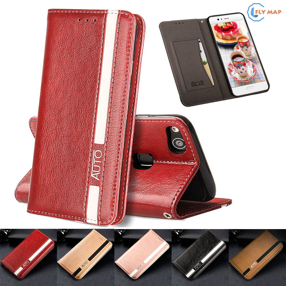 Flip Case for Huawei P10 Lite P10Lite WAS-LX1 WAS-TL10 Business Wallet Leather Cover Phone Case for Huawei P 10 Lite WAS LX1 Bag ...
