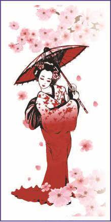 1pc Japanese Geisha Tattoo Temporary Tattoos Stickers On Body Art Big Large Designs Waterproof Tatoo Wrist Arm Shoulder Women