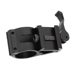 45 градусов Смещение область рельса крепление AR 15 фонарик Быстроразъемное 30 мм кольцо пистолет прицел факел лазерное оборудование винтовки или выстрел