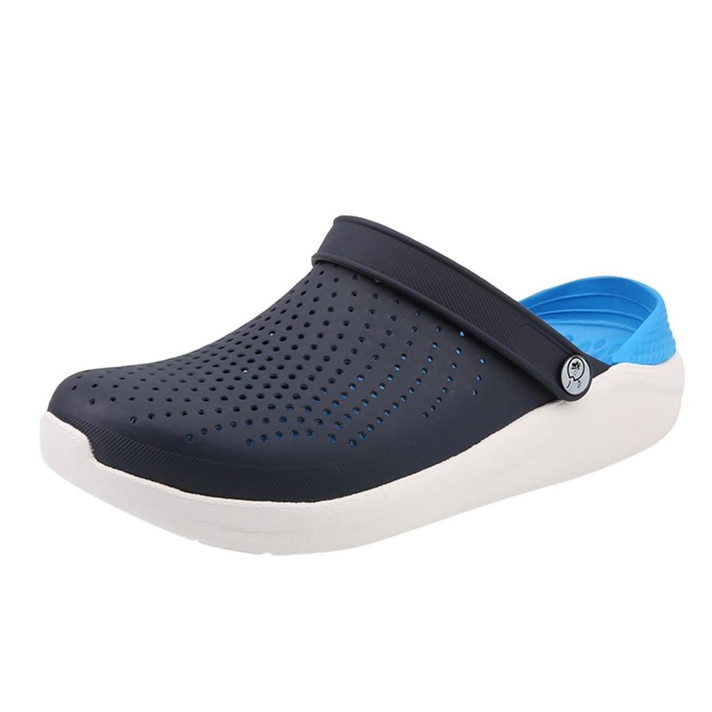 SAGACE Slippers Walking-Sneakers Beach-Sandal Slides Comfortable Outdoor Men's Summer