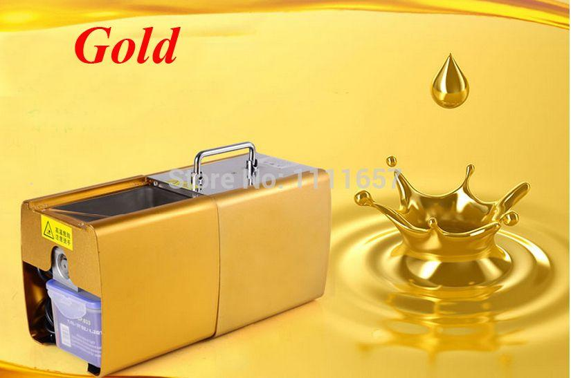 Free shipping Small Peanut Oil Press Machine Oil Presser 220V 200W stainless steel Brand new For Home Use