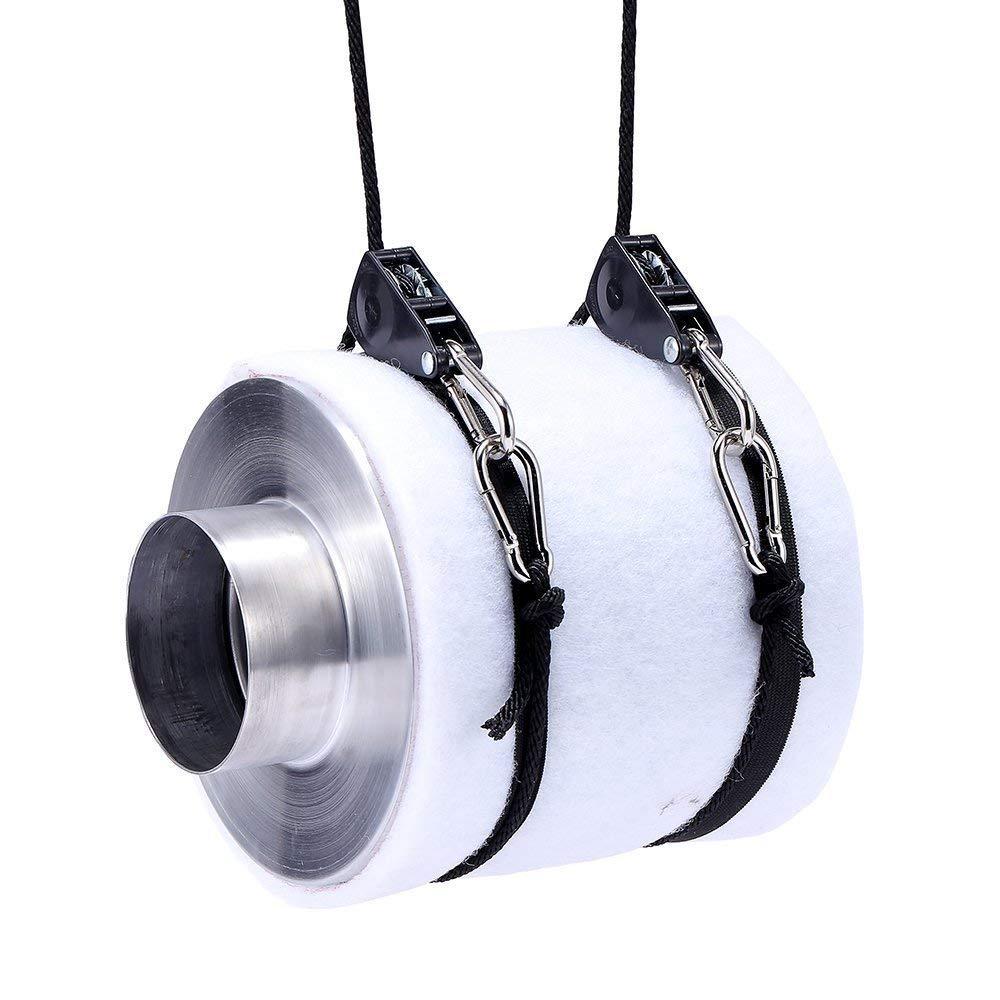 1/4 дюймов 8 футов длинный Регулируемый сверхпрочный зажим для каната вешалка, армированный Металл внутренние шестерни, 300lb Емкость