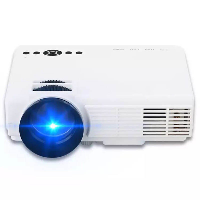 FuLI Thinyou Mini Mejor Cine HD 1080 P Portable USB Pico LCD de Video LED Mini P