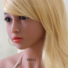 WMDOLL  adult sex dolls head for full silicone doll  oral sex toys for men real dolls head with oral sex