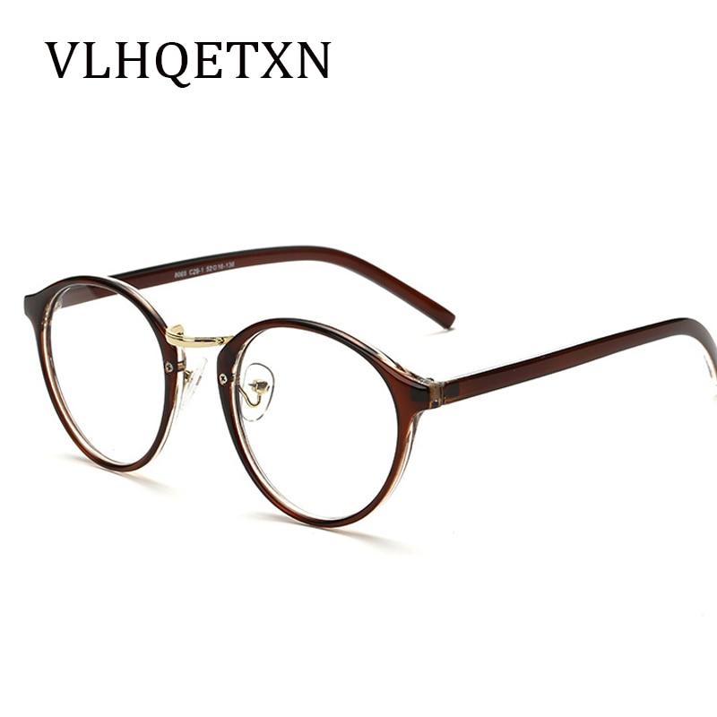Klare Linse Gefälschte Grad Gläser Verschreibungspflichtigen Brillen ...