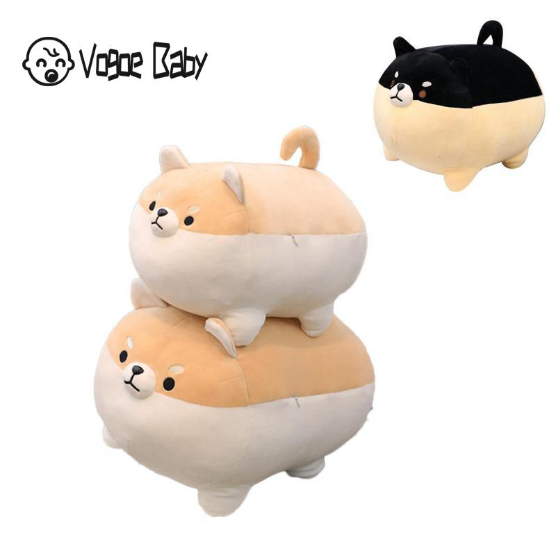 New 40/50cm Cute Shiba Inu Dog Plush Toy Stuffed Soft Animal Corgi Chai Pillow Christmas Gift for Kids Valentine Present 7479