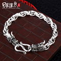 Beier 925 sterling silver bracelet high quality link chain domineering  dragon man bracelet hand chain SCTYL0027