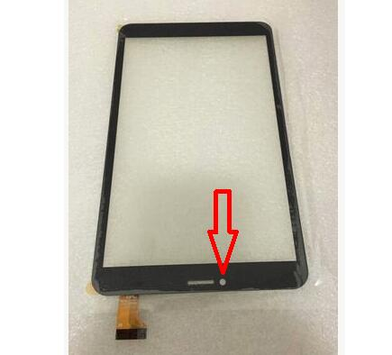 New For 8 DP080133-F1 Tablet DP080133 Capacitive touch screen panel Digitizer Glass Sensor replacement Free Shipping black new for capacitive touch screen digitizer panel glass sensor 101056 07a v1 replacement 10 1 inch tablet free shipping