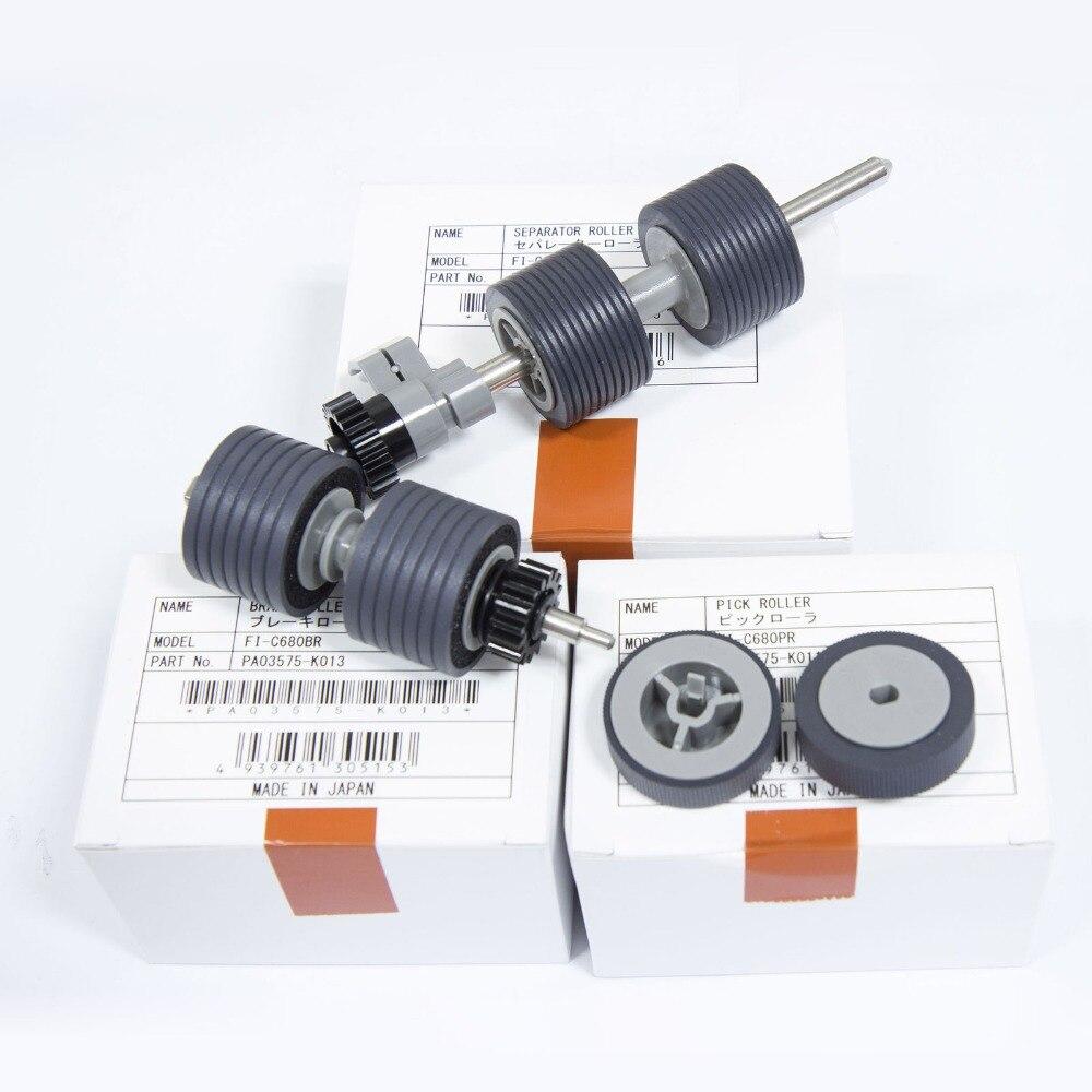 One Genuine OEM Fujitsu PA03450-K013 Brake Roller for fi-5900C Color Scanner