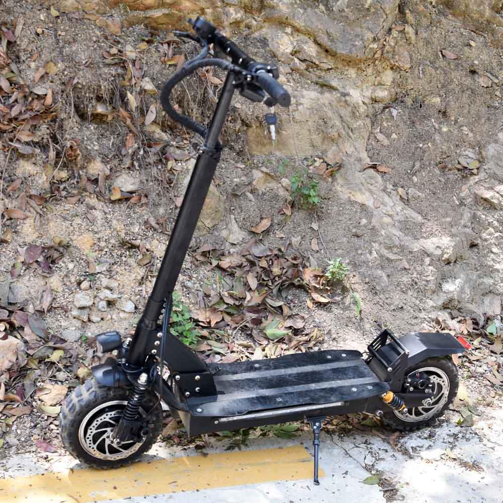 Pflichtbewusst Elektrische Skateboard 3200 W 2 Motor 26ah Roller Mit Vorne Und Hinten Suspension Und Sitz Roller