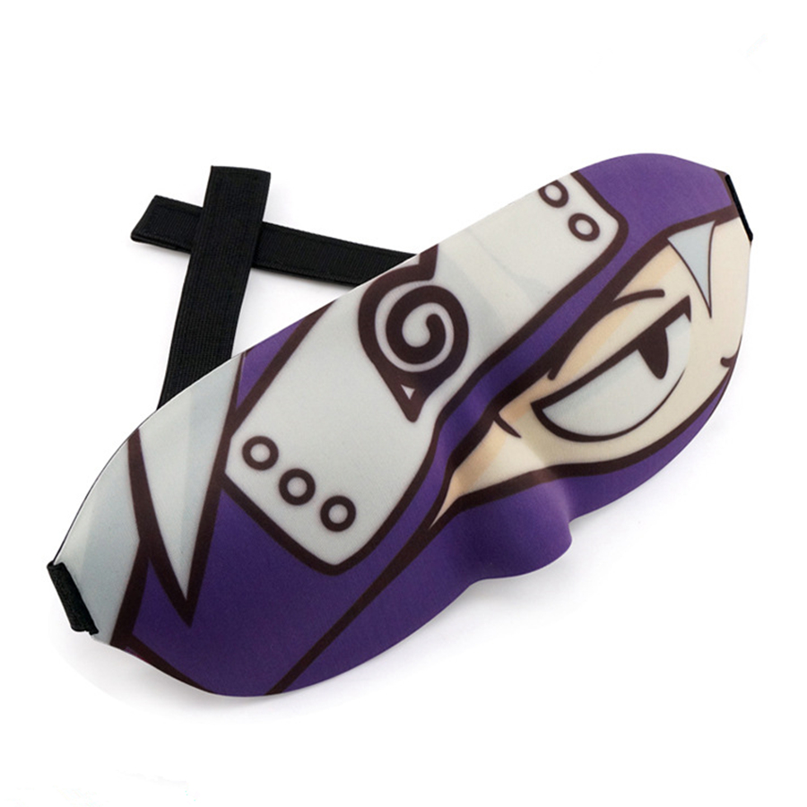 2018 New Naruto Hatake Kakashi 3D Eye mask Cute Funny Style Shade Lunch break Sleep Special Eye mask
