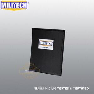 Image 2 - MILITECH 10x12 STC & RC Cut NIJ 0101.06 IIIA 3A NIJ 0115.00 Livello 2 Stab Resistente Piatto A Prova di Proiettile aramide Morbida Balistico Pannello