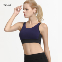 Diwish Womens Sports Bra Quick Dry Breathable Sport Top Fitness Women Padded Yoga Tops for Running Workout Bras