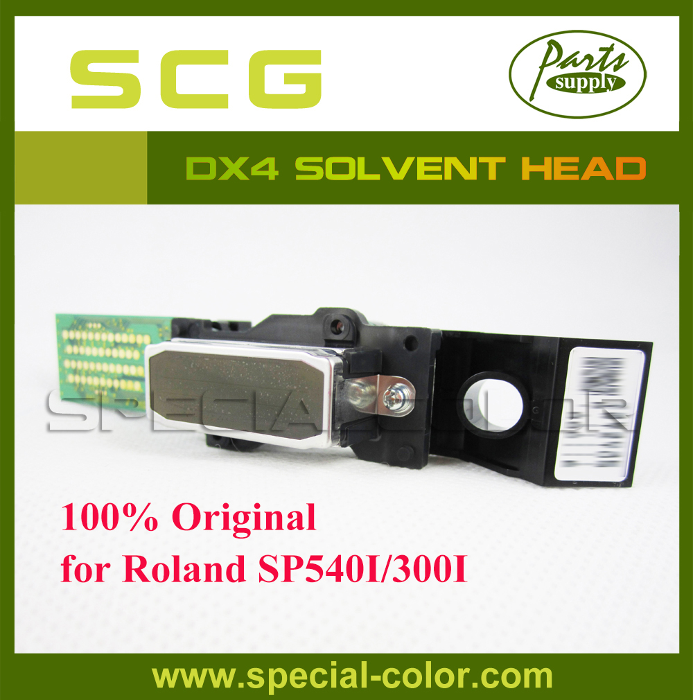(Get 2pcs DX4 small damper as gift) Roland SP540I/300I DX4 Solvent Printhead for Epon DX4 Print Head