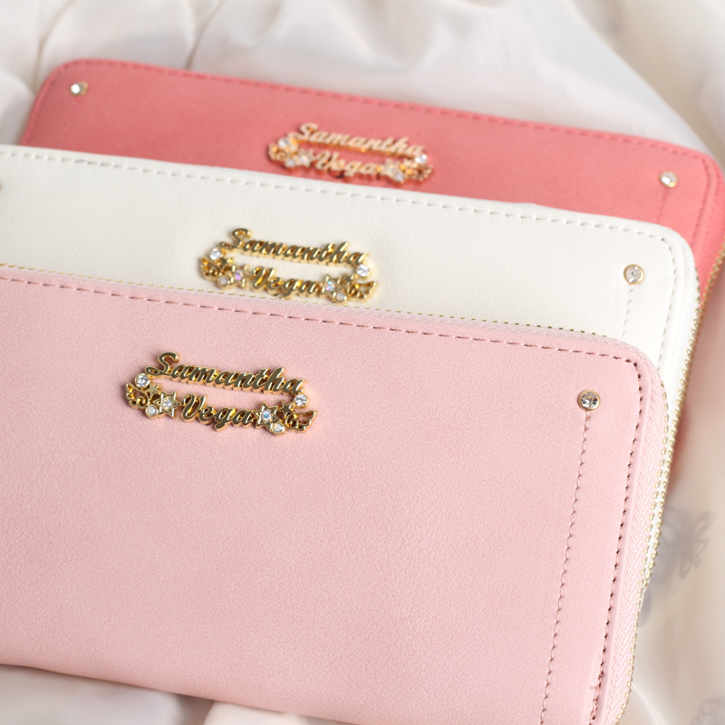 Princess sweet lolita bag Variety of Sakura 20th Anniversary Edition long wallet sweet Macaroon color zipper purse women WW007 sweet years sy 6282l 07