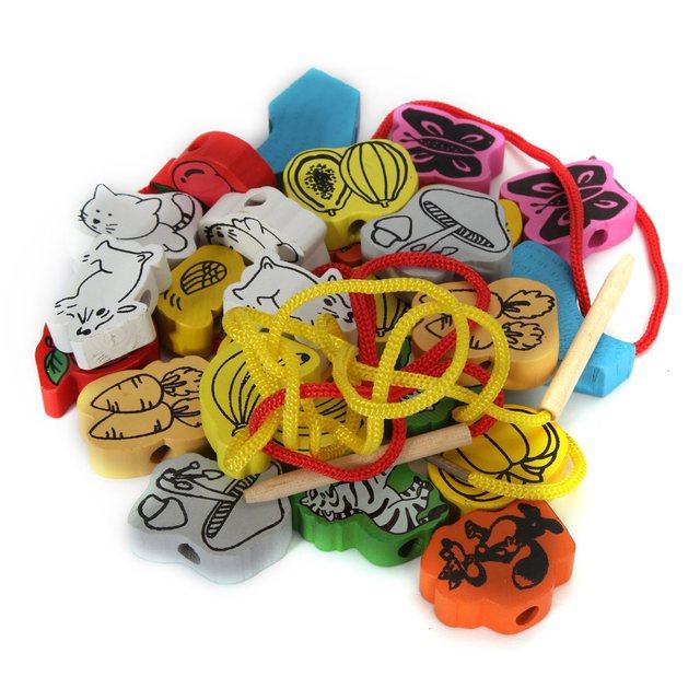 Children Wooden Beads Toy