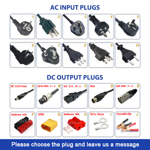 Image 5 - Chargeur 54.6V 6A chargeur de batterie Li ion 54.6V pour batterie 10S 48V Lipo/LiMn2O4/LiCoO2 charge rapide entièrement automatique
