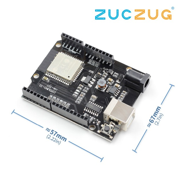 US $8 08 5% OFF| ESP32 WiFi Bluetooth 4MB Flash For Wemos D1 R32  Development Board-in Integrated Circuits from Electronic Components &  Supplies on