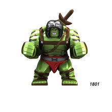 Single Sale Super Heroes Star Wars 1801 skaar Son of Hulk Building big Blocks Figure Bricks Toys gifts Compatible Legoed Ninjaed(China)
