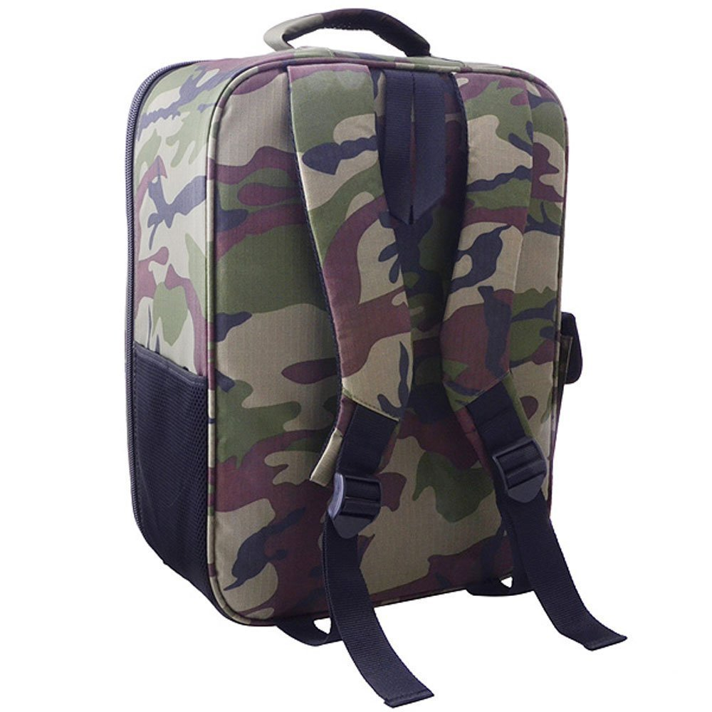 Camouflage DJI Phantom 3 Backpack Phantom 3 Standard Professional Advanced Drone Bag Case