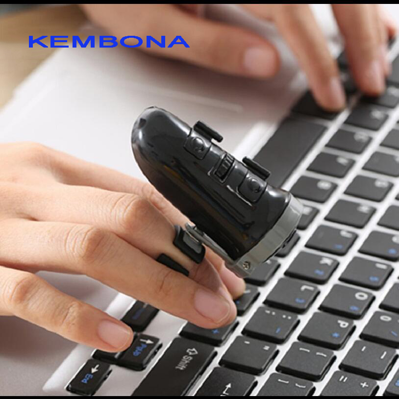 все цены на KEMBONA Creative Wireless Bluetooth finger mouse Rechargeable lithium batterye charging RING MOUSE