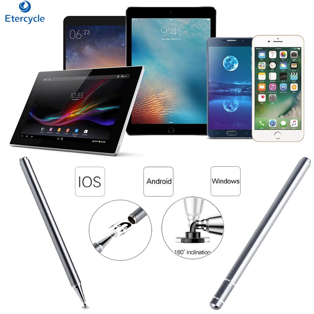 Universal Stylus Pen For Apple/Samsung/Huawei/xiaomi Capacitive <font><b>screen</b></font> For Windows/Android/IOS tablet Mobile phone <font><b>Touch</b></font> Pen image