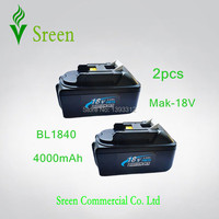 3 X New 18V Lithium Ion 4000mAh Replacement Rechargeable Power Tool Battery For Makita BL1830 LXT400