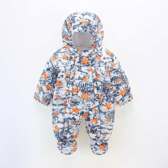 Top quality 2016 Fall / Winter New Hoodie Hooded Kids Baby One-piece Clothes Jacket Newborn Baby Clothes