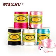 TYRY.HU Baby Teething Necklace Teether Accessories 1.5mm Satin Silk Rope 80Meter