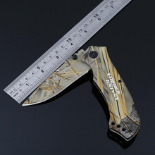Jeslon NEW ARRIVAL Portable Folding Knife 3Cr13 Survival Tools Aluminium Handle Hunting EDC Tactical Knives for Outdoor Camping