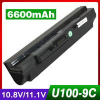 6600mAh battery for LG X110 for MEDION Akoya Mini E1210 for Msi Wind U100 U90 U200 U210 U230 BTY S11 BTY S12 TX2 RTL8187SE