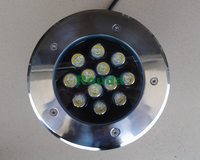 floor led light 12w underground lights 110 120lm/w garden