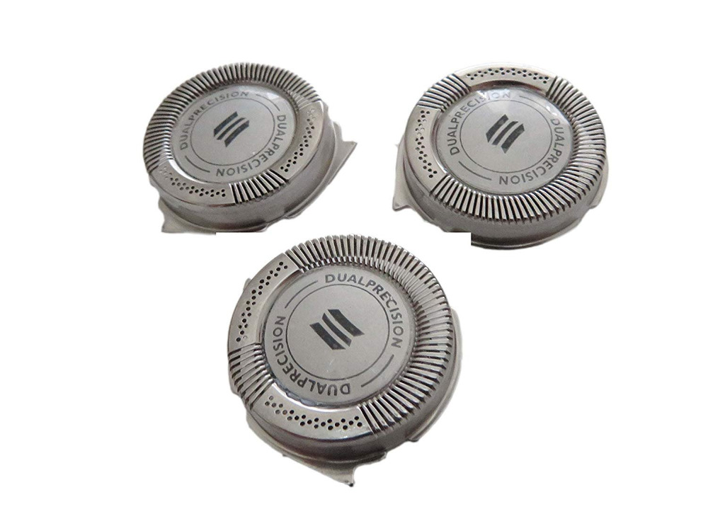 3pcs SH50/52 Replacement Shaver Blade Heads for Philips Norelco Series 5000 HQ8 AT750 HQ6073 HQ7120 PT735 S5000 Dual Precision image