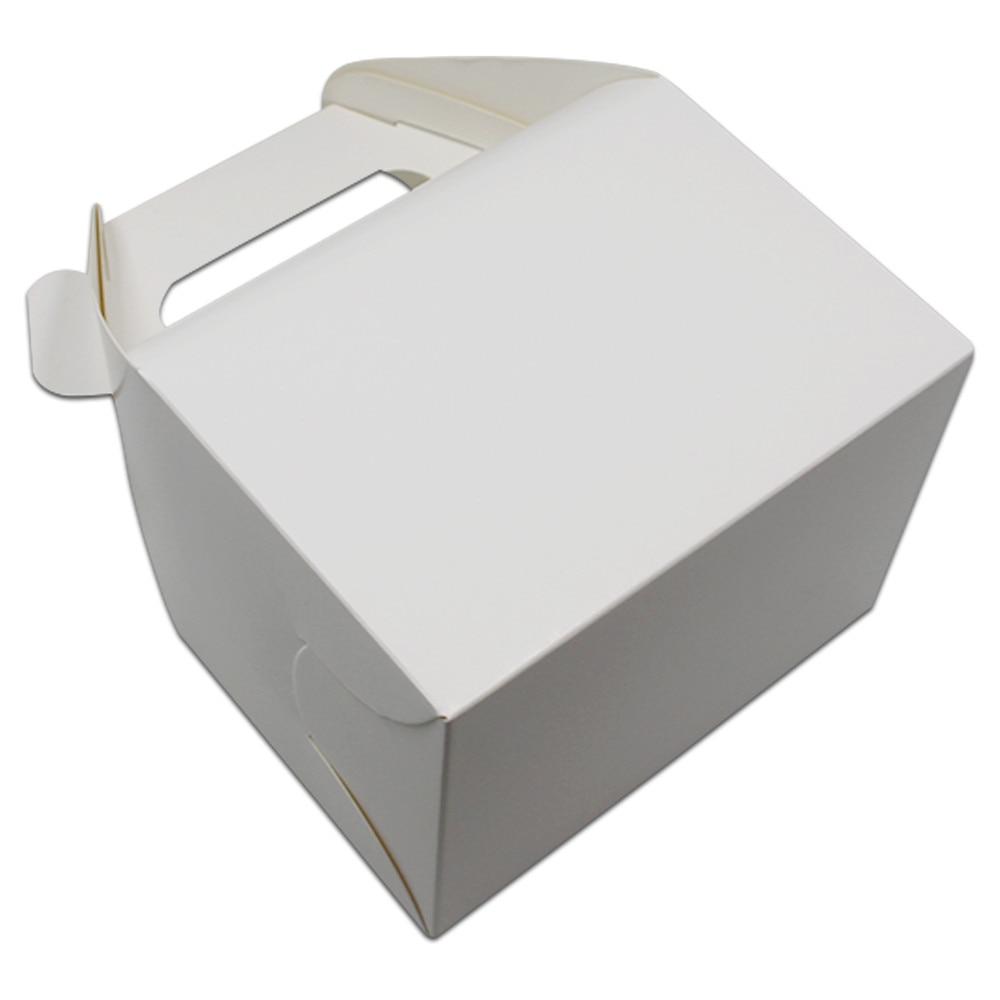 DHL 160Pcs/lot Plain Blank White / Brown Bakery Gift Craft Box ...