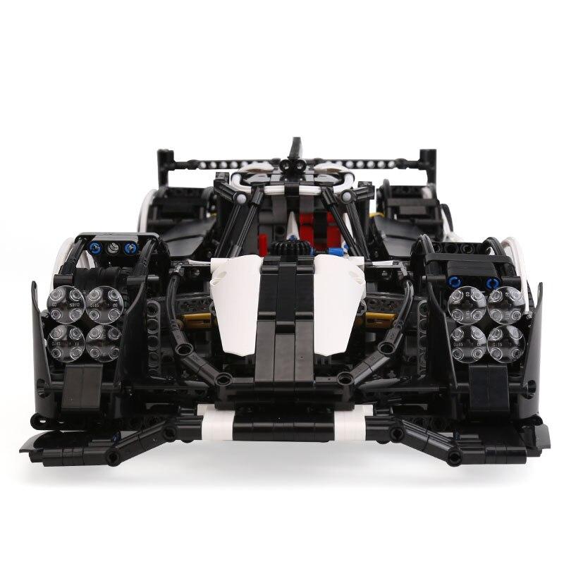 23018 Technic samochód MOC 5530 Hybrid Super Speed samochód kompatybilny z dla dzieci zabawki dla dzieci klocki klocki zabawki dla dzieci prezenty w Klocki od Zabawki i hobby na  Grupa 3