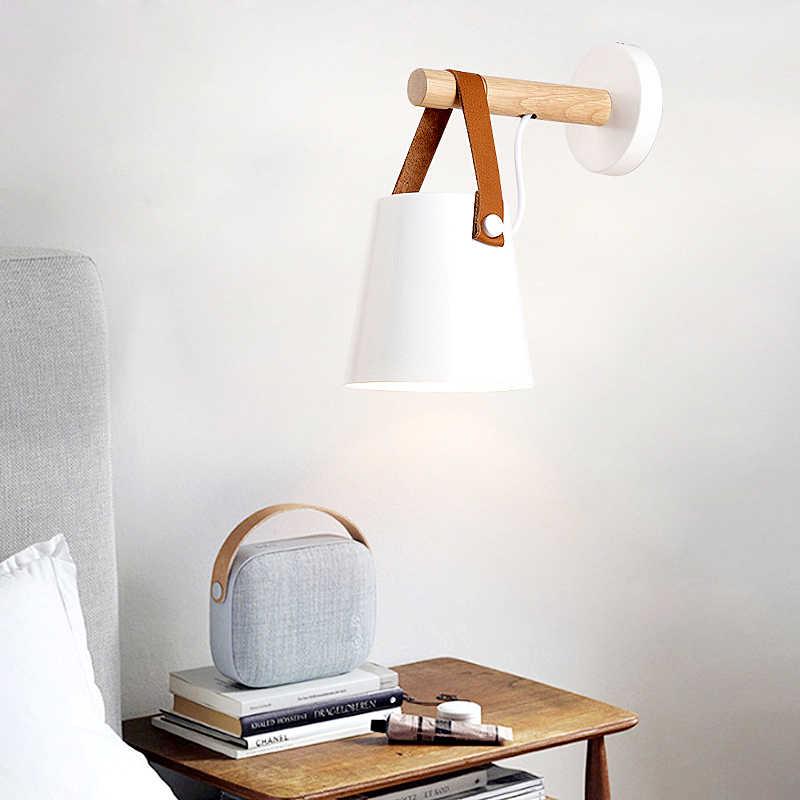 E27 современный настенный светильник белый черный Indoor светодио дный бра современные светодио дный светильник Настенный бра лампа Nordic Утюг aplik Ламба