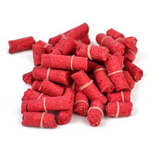 [2 Bags] Fishing Pellet Bait for Carp / Grass Carp / Pan Fish Blue Gill Sunfish Crappie Fishing Blood Worm Flavor and More